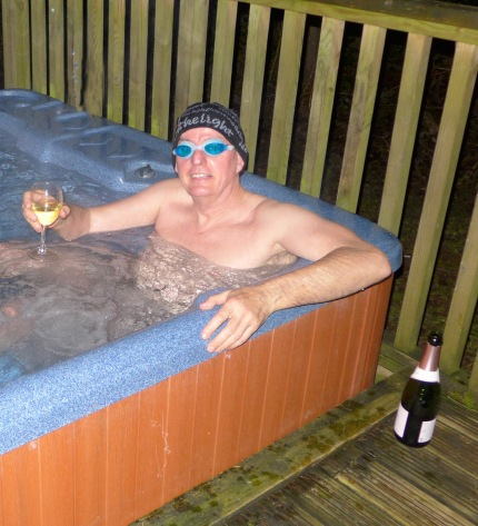 Where is the jacuzzi when you need one? Had wait over 20 years for this.