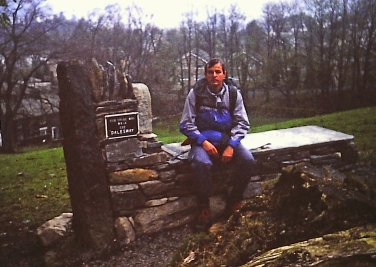 The End of the Dales Way 1990