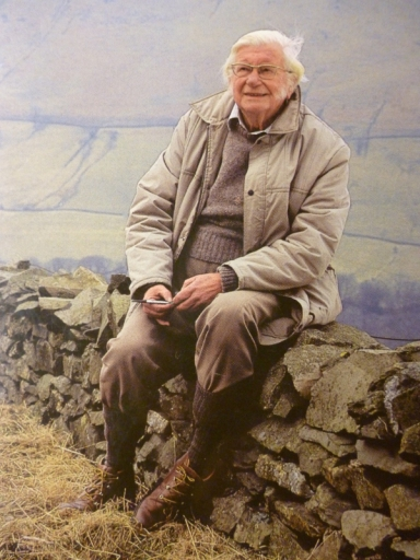 Alfred Wainwright. Born 17 January 1907. Died 20 January 1991.