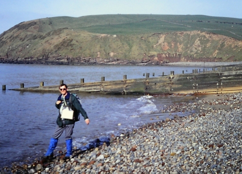 St Bees at the start of Wainwright's 192 mile coast to coast.