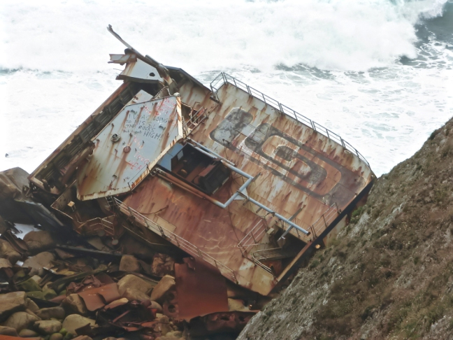 Lands End Shipwreck